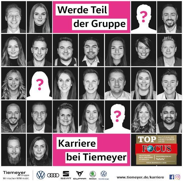 Karriere bei Tiemeyer - Werde Teil der Gruppe