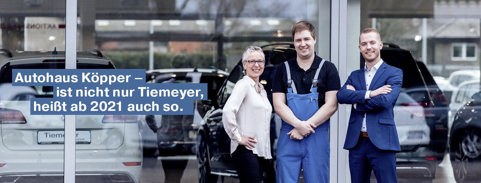 Tiemeyer Rent Standort Dorsten VW